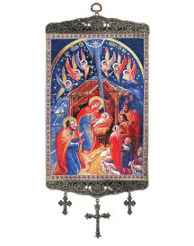 Christmas Icon Mini-Tapestry