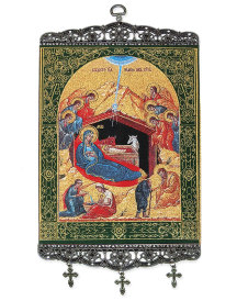 Christmas Icon Wall Hanging - 18