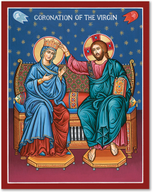 Coronation of the Virgin Mary Icon - 3