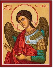 Cretan-Style Archangel Michael Icon