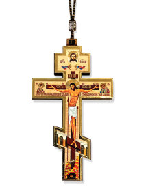 Cross Car Pendant