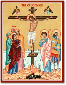 Crucifixion icon - 3