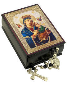 Perpetual Help Decorative Icon Box