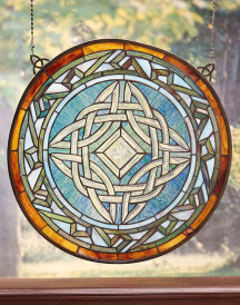 Deluxe Glass Window Hanging