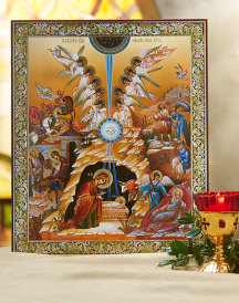 Deluxe Russian Nativity Icon