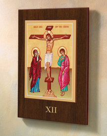 Deluxe Stations of the Cross sets - Fourteen 10.8