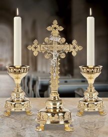 Discounted Altar Crucifix & Candlesticks
