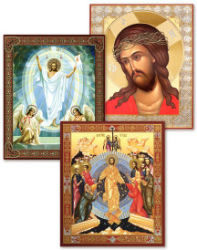 Discounted Set of 3 Easter Icons