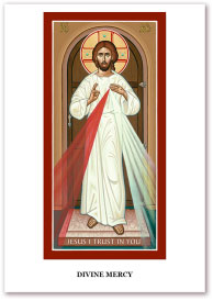 Divine Mercy Holy Cards