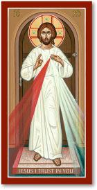 Divine Mercy Magnet