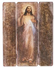 Divine Mercy panel