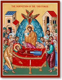 Dormition of Mary Icon