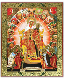 Empress of Heaven icon