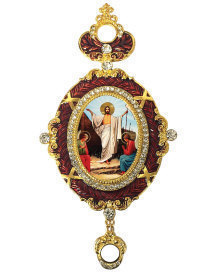 Enamel Resurrection Icon Ornament