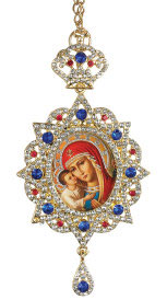 Enamelled Russian Icon Ornament