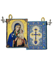 Eternal Bloom Rosary Pouch