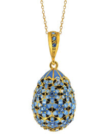 Filligree Egg Pendant