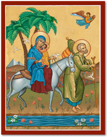 Flight Into Egypt Icon - 11