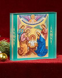 Glory to God Acyrlic Glass Icon