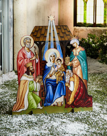 Glory to the Newborn King Indoor-Outdoor Display