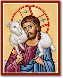 Good Shepherd portrait icon - 11