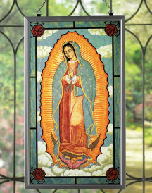 Guadalupe Deluxe Suncatcher