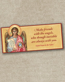 Guardian Angel inspirational magnet