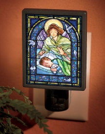Guardian Angel nightlight - boy