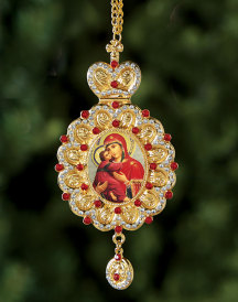 Red Jewelled Heirloom Ornament