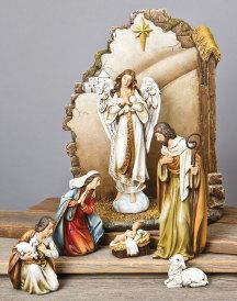 Heavenly Night Nativity Set