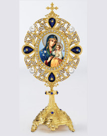 Heirloom Monstrance Style Icon Ornament