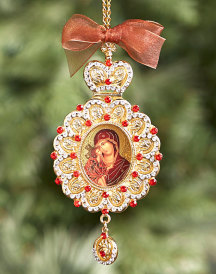 Sweet Kissing Heirloom Ornament
