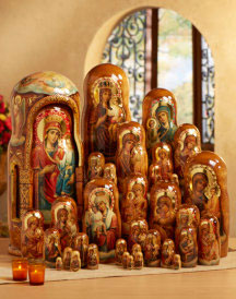 Heirloom Russian Nesting Doll Set