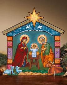 Holy Night Home Display
