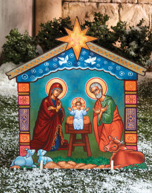 Holy Night Indoor-Outdoor Display