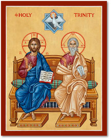 Holy Trinity Icon Magnet