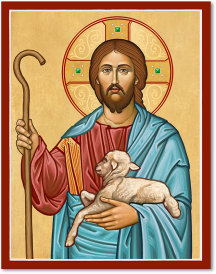 I Am The Good Shepherd Icon - 3