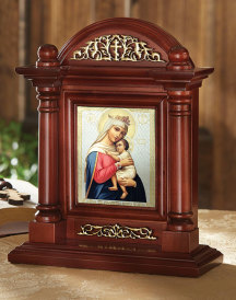 Icon Home Shrine - Virgin of Hope