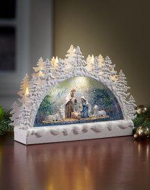 Illuminated Nativity Display