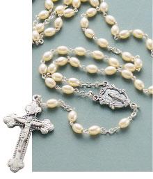 Italian Pearl Rosary