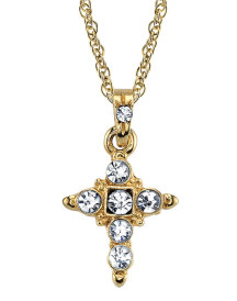 Jeweled Cross Pendant