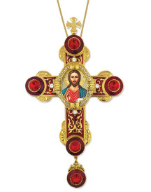 Jeweled Wall Cross - Christ