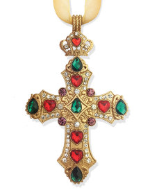 Jewelled Cross Ornament