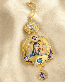 Jewelled Deluxe Icon Ornament