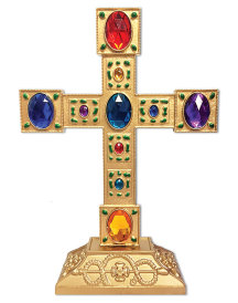 Jewelled Pedestal Cross