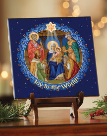 Joy to the World Ceramic Tile
