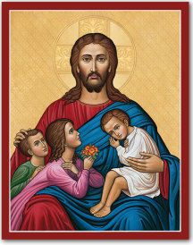 Let the children come to Me Icon - 19