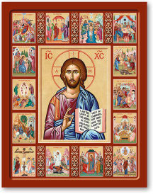 Life of Christ Icon - 8