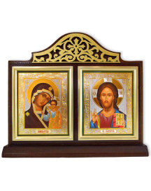 Madonna and Christ Diptych Shrine