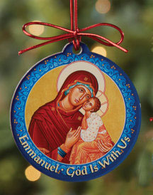Monastery Icons Christmas Ornament